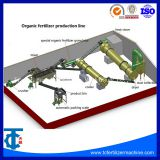 Complete Dairy Manure Organic Fertilizer Production Line