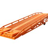 Small Loading Ramp 2 Cylinders Dock Bumpers