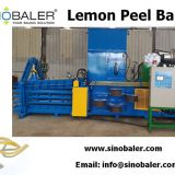 Lemon Peel Baler Machine