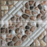 300x300mm 12x12 cobblestones look floor tiles for balcony