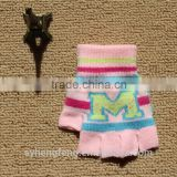 wholesale custom baby knit mittens