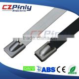 304 316 ball self-lock type stainless steel cable ties                                                                         Quality Choice
