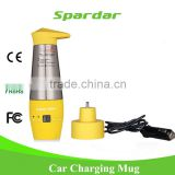 12V Metal Electric Car Water Heated Kettle