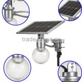 4W 8W 12W all in one solar moon light, integrated LED solar villa light, outdoor garden light, wall mounted