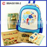 School Bag Set Eco Friendly Student stationary product