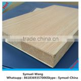 [ 1220x2440mm ] Okoume block board , decorative board,wooden grains Melamine Block Board