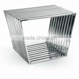 home used durable stainless steel seating bench HT031