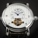 Vogue watches 2014 western watches,automatic mechanical watch, genuine leather men watch WM357