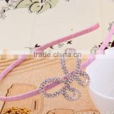Hot Sale High Quality Hair Jewellery Stuning Crystal Butterfly Charm Fashion Hair Accessory
