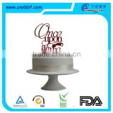 "High quality cake topper ""once upon a time"" for wedding and brithday"