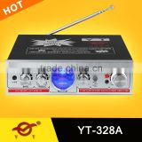 diy hifi amplifier aluminum extruded box YT-328A/support mp3 USB/SD/FM
