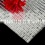Wholesale Bling Bling 24X40cm Iron-on Glass Rhinestone Mesh, Hot-fix Strass Stone Mesh Trimming