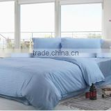 2014 factory direct sales light blue bedding set for hospital and hotel