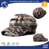 Embroidery patch baseball cap sport topi red camo hat
