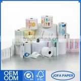 Good Prices Highest Level Bank Check Atm Thermochromic Paper Roll