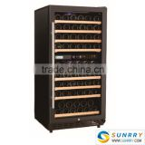 Stainless Steel Horizontal Decorative Wine Cooler (SY-WC80C SUNRRY)