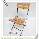 KZ140081 Diving room folding foldable metal wooden chairs                                                                         Quality Choice