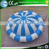 Customize Inflatable Water Toys, Inflatable Floating Spinner For Water Park