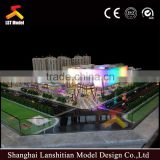 Miniature architectural model maker for commercial building