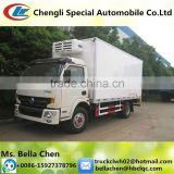 -20 degree, 7 tons DONGFENG ice cream van freezer truck hot sale in Congo