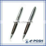 Chocolate parker refill laser engraving translucent lacquer metal ball point pen