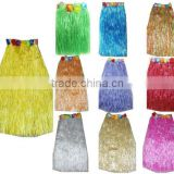 Fancy dress hawaii straw skirt set for canival party festival beach with fashion style BWG-2102