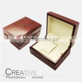 High Quality Single Wooden Watch Box For Hot Sale