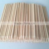 Round wooden sticks for crafts