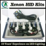 H4 High/low HID kit bi-xenon AC 35W 4300K 5000K 6000K 8000K 1000K