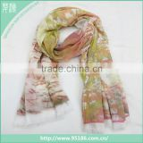 Chinese Hot Sale Women Autumn Winter print oblong pashmina scarf                                                                         Quality Choice