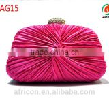 New exquisite dumpling shape BAG15 fushia clutch master cylinder/clutch bag, you deserve it !