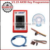 Professional For BMW EWS AK90 Key Programmer AK90+ V3.19 AK 90 auto Key Programmer with cables
