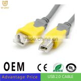 OEM Sublimation micro usb printer cable For printer