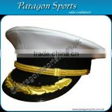 Naval Officer Peaked Cap Side View