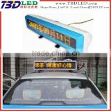 taxi top led display,led car movign message screen sign board,led taxi display sign for car rear window
