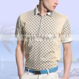 2014 hot-selling new arrivals fashion design 100% cotton and 100% polyester material for men's formal shirts