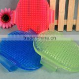 hot Silicone Pet Bath Massage Brush pet bathing brush, massage, clean brush dog massage brush                                                                         Quality Choice