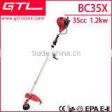 4-stroke gasoline brush cutter/grass trimmer similar to Honda GX35 BC35X                                                                         Quality Choice