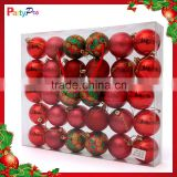 Wholesale Hot Sale Clear Plastic Christmas Ball Ornaments Christmas Decorations Made In China