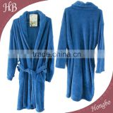 100% Polyester Fleece Hotel Bathrobe