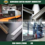 H beam shot blasting machine/steel plate shot blasting machine/steel structure sand blasting machine