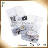 Hot selling style PU cheap business card holder,cute print cheap business card holder