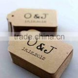 brown kraft hang tags for clothing(M-HT180)                                                                         Quality Choice