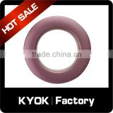 KYOK latest design curtain fashion accessories wholesale,hooks hangers double glide shaped curtain rings