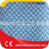 Color Fastness Apertured Spunlaced Color Mesh Non-Woven Products