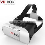 HOT Google cardboard VR BOX II 2.0 Version VR Virtual Reality 3D Glasses For 3.5 - 6.0 inch Smartphone with custom logo