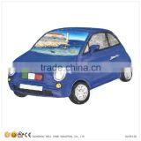 Resin Souvenir Magnets Cities on Car Model
