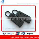 CD9022 Custom Fashion Black Matte Metal Pull for Jacket