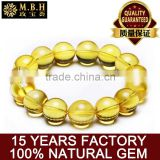 hot Natural amber amber bracelet and a single circle hand beaded fashion jewelry amber beeswax Factory wholesale
