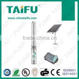 Solar panel DC solar submersible pump TAIFU , deep well water pump,deep well submersible pump